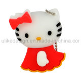 Hello Kitty Colorful USB Flash Drive for Promotion (UL-PVC001)
