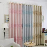 Pretty European Blackout Jacquard Window Curtain (04F0036)