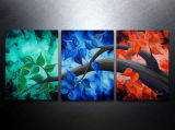 Triptych Art Canvas Painting Abstract Art Contemporary Landscape Modern Wall Art Canvas Prints