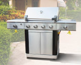 Ce CSA Approval Gas Barbecue Grill with 2 Side Burner