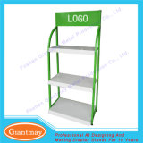 Simple Design Flooring Oil Metal Display Rack
