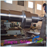 Forged SAE4140 SAE4340 42CrMo Steel Shaft with Qt