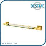 Hotel Bathroom Accessories Chrome Brass Glass Towel Shelf
