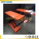 3500kg Hydraulic Scissor Car Lifts /Movable Scissor Auto Lift Table Lift Height 1000mm