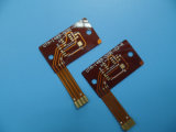 Thin FPC 0.1mm Single Sided Flexible PCB with Immersion Gold