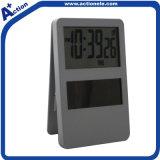 Solar Power Clip Table Clock with Photo Frame