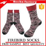 Men′s Colorful Combed Cotton Socks with Custom Dress Socks