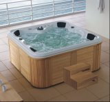 2150mm Square Free Standing Outdoor SPA for 7 People (AT-9005)