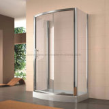 6mm Tempered Glass Rectangle Dome-Shaped Shower Enclosure