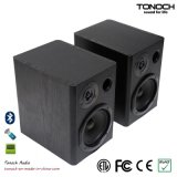 5 Inches Studio Monitor Wooden Active Loud Speaker for Home Audios