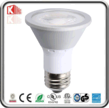 Energy Star High Lumens PAR20 LED Spotlight Dimmable COB 7W 630lm China Factory