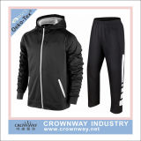 Men Quality Fleece training Suit Sweat Shirt Sweat Pant