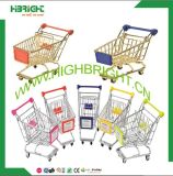 Gold Wire Mini Shopping Cart for Promotional