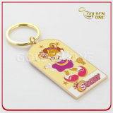 Custom Colorful Hard Enamel Souvenir Gift Metal Key Ring