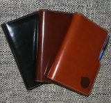 Glossy PVC Leather Notepads with Pens