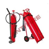 CO2 Wheeled Fire Extinguisher