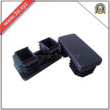 Plastic Rectangular Black Plugs for Steel Pipe (YZF-H70)