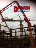 Full Hydraulic Drive Mode High Efficiency and Energy Saving Lifting Tower Concrete Placing Boom