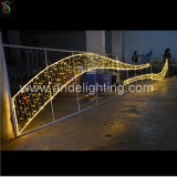 LED Christmas Motif Cross Street Decorative Lights with Ce RoHS SAA Approved