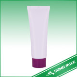 100g PE Pink Empty Cosmetic Hose for Cleaner