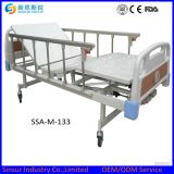 Buy Manual Three Crank/Shake Adjustable Hospital Medical Bed Price
