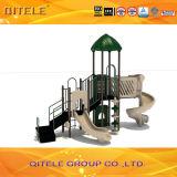 Outdoor Playground Kids Slide Playhouse
