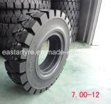 Anti-Tearing 700-12 Solid Forklift Tires for Glassworks
