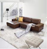 2016 Modern Fashion L Shape Leather Sofa for House Use (SF013)