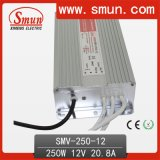 250W 12VDC 21A Switching Power Supply LED Driver IP67