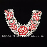 Wholesale Color Woman Detachable Flower Embroidered Applique Lace Collar Garment