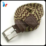 Knitted Mix Color Elastic Webbing Men Belt Factory From China