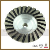 "4"" Double Row Cup Wheel-Diamond Marble Granite Grinding Wheels"