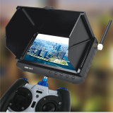 Outdoor Powered Wireless Receiver Fpv DVR Monitor with 5inch HD LCD No Blue Screen Mini Drone Camera
