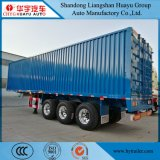 3 Axle Box/Van Type Cargo Semi Trailer with Fuwa Valex Axle for Bulk Goods Transport