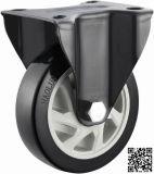 4/5 Inch PVC Rigid Castor Wheels for Trolley (fixed Caster)