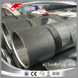 ASTM A53 Threaded Hot Dipped Galvanized Round Steel Pipes with Sockets