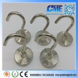 Strong D48X8mm High Quality Neodymium Permanent Pot Magnet