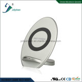 Hot-Selling Fast Smart Wireless Charger with Silver Housing Suitable for Qi Standard Mobile Ce. RoHS, FCC