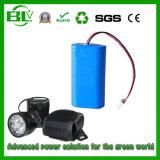 Hot Sale Li-ion Battery Pack 2600mAh 7.4V Battery for Headset Light Kits Battery Head Light Battery