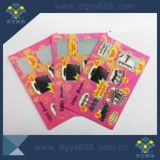 Security Scratch Card Lottery with Serial Numbers Custom Printing