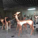 New Design Stainless Steel Animal Sculpture Welcome OEM ODM Made in China