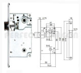 Various Styles Door Lock L8099 for Aluminum & Wooden Door