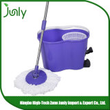 Double Bucket Magic Super 360 Spin Easy Mop with Foot Pedal