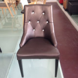 Luxury Button Tufted Design Restaurant Chair in Guangzhou (FOH-CXSC72C)