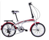 6 Speed R/Derailleur Folding Bike with V Brake (AOKFB004)