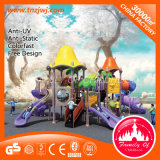 Amusement Park Kid Tunnel Slide Outdoor Playground