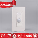 White Wall Electric Infrared Ray Induction Switch