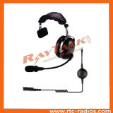 Single Earmuff Walkie Talkie Headset with XLR Jack