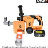 Soft-Grip Handle Electrical Tool with Lithium Battery and Dust Collection for Drilling (NZ80-01)