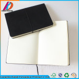 2018 Promotion Printing Leather Cover Spiral Notebook for Office Stationery